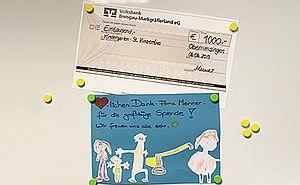 Dankesschreiben Kindergarten
