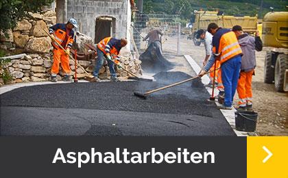 Asphaltarbeiten - Menner Tiefbau Breisach