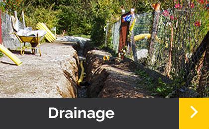 Drainage- Menner Tiefbau Breisach