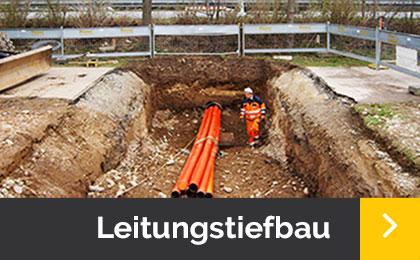 Leitungstiefbau- Menner Tiefbau Breisach