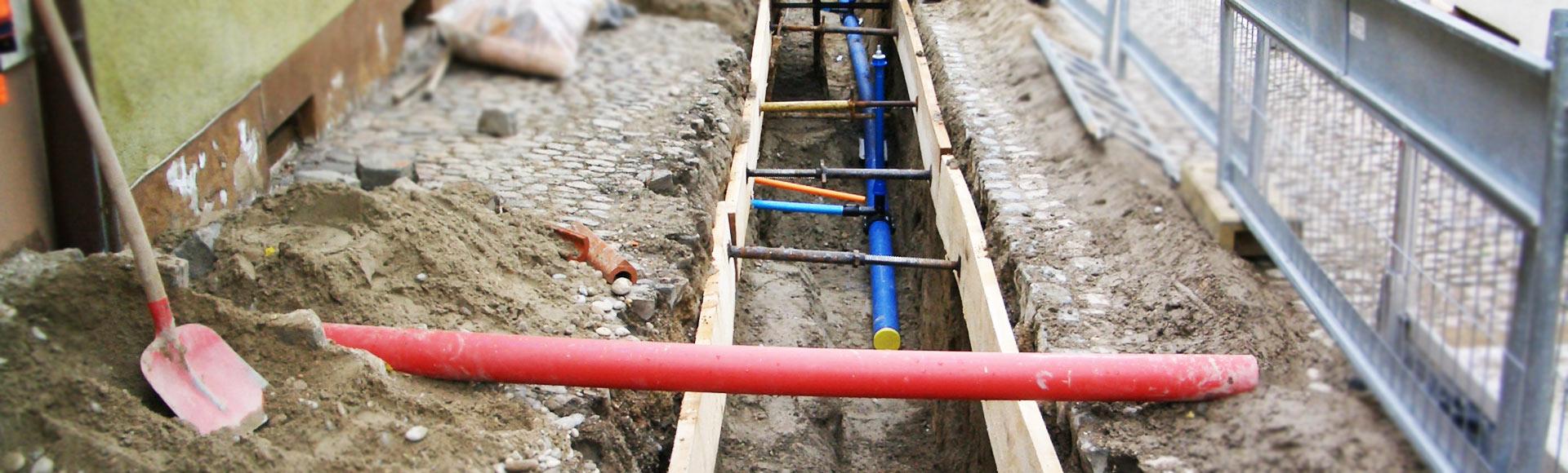 Menner Tiefbau Breisach Leitungsbautiefbau