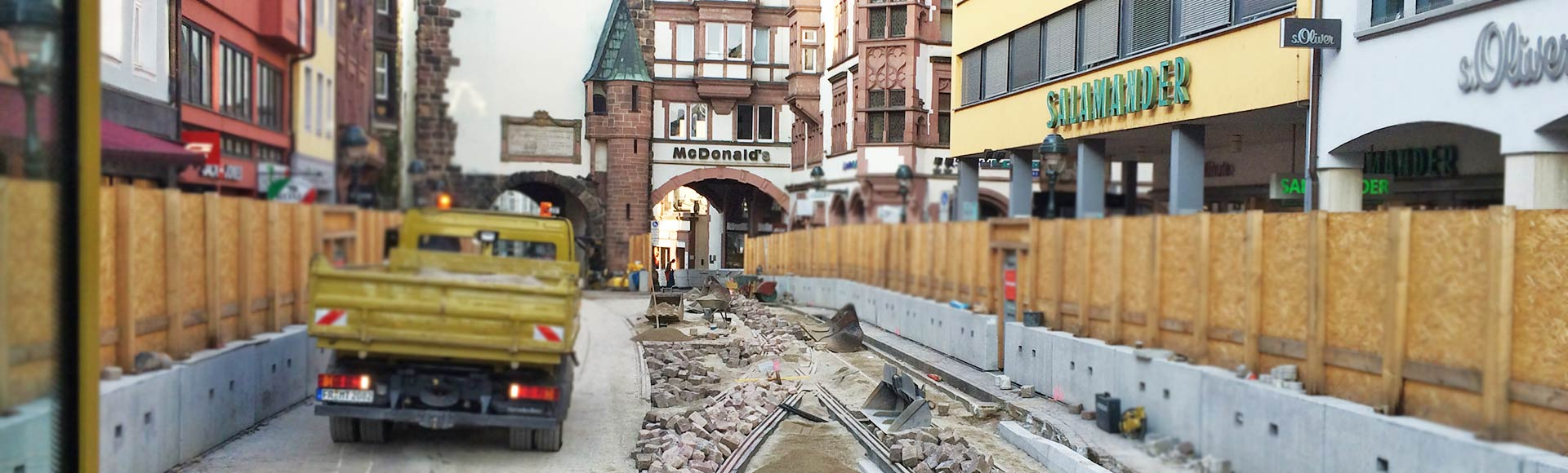 Menner Tiefbau Breisach Pflasterarbeiten - Pflasterbau